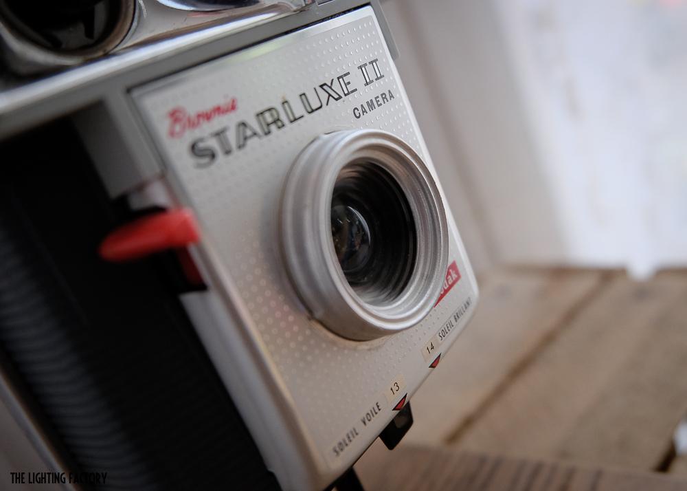 Le Brownie «Starluxe II Camera» de Kodak.
